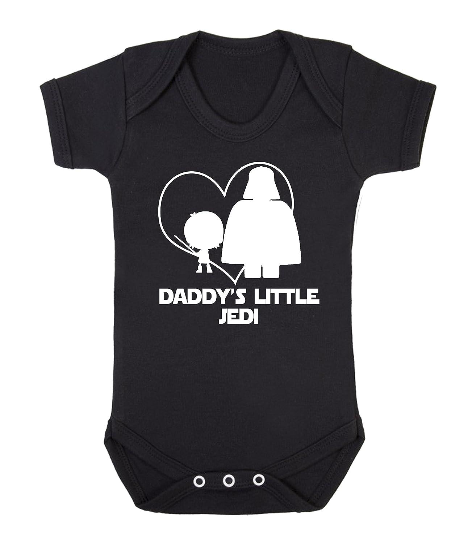 Daddy 's Little Jedi Star Wars bebé chaleco para niño Babygrow Mono Funny Jedi Ickle Peanut