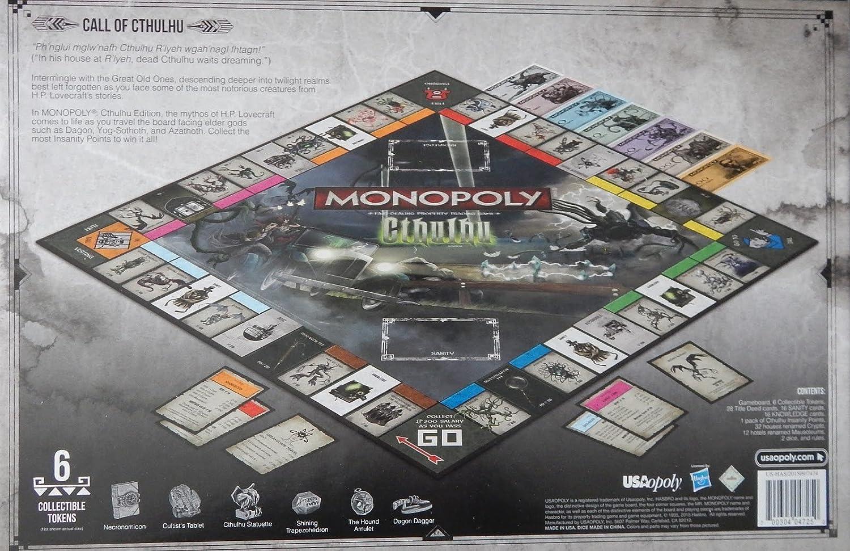 Monopoly: Cthulhu: Amazon.es: Juguetes y juegos