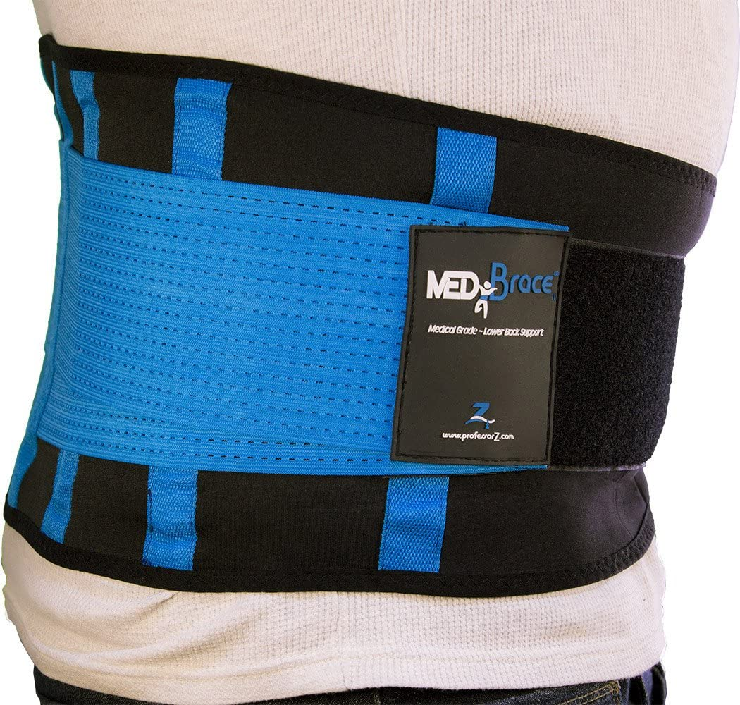 Back Support Brace, Lower Lumbar Belt MEDiBrace II (Medical Grade) Pain