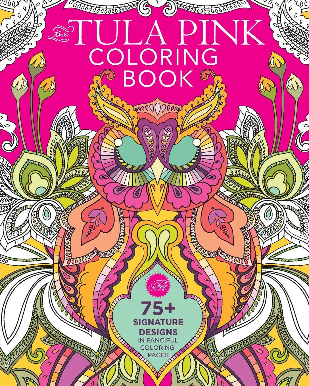 foto de Amazon.com: The Tula Pink Coloring Book: 75+ Signature Designs in ...