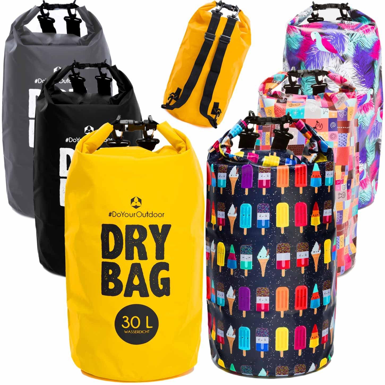 #DoYourOutdoor - Zaino da outdoor Drybag, da 2L 5L 10L 20L 30L o40L, 100% impermeabile, protezione contro polvere, sabbia, acqua e sporco, ideale per kayak, canoa, vela, pesca, nuoto ecc. #DoYourSports