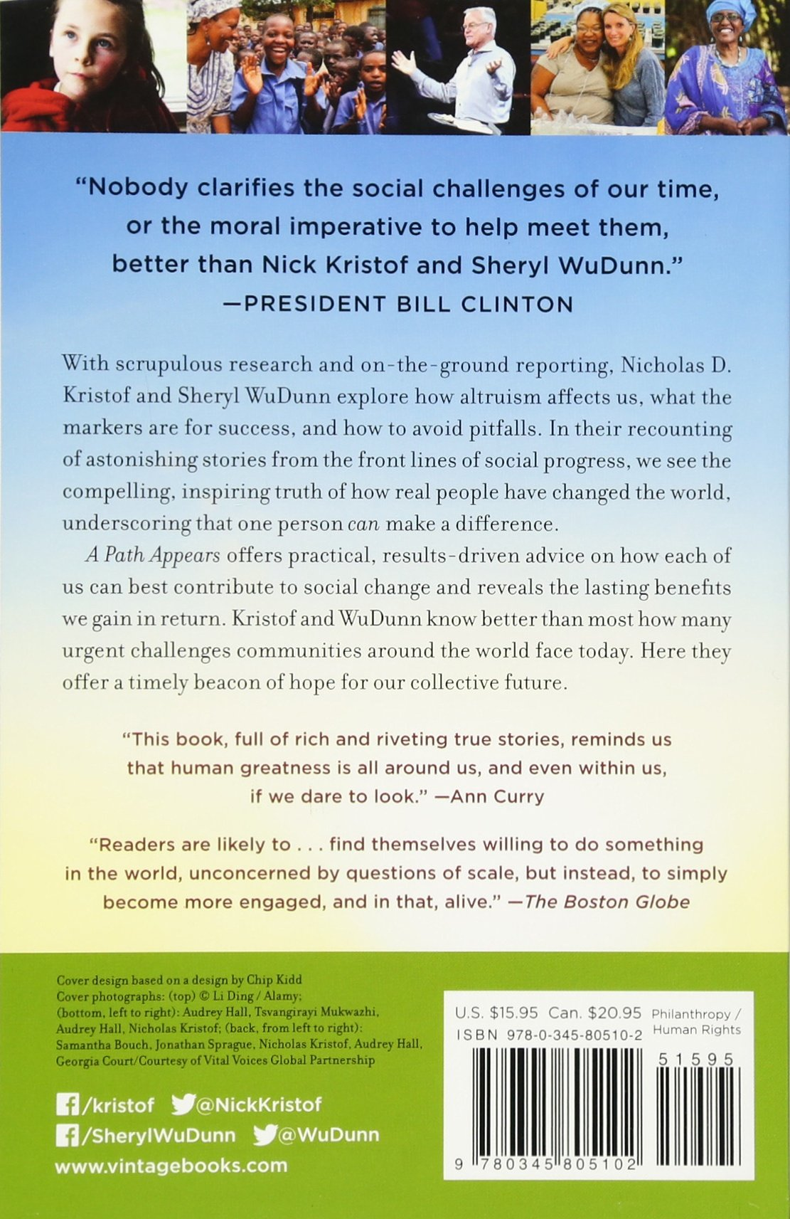 A Path Appears: Transforming Lives, Creating Opportunity: Nicholas Kristof,  Sheryl Wudunn: 9780345805102: Amazon: Books
