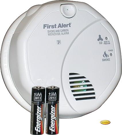 First Alert - Detector de humo y monóxido de carbono