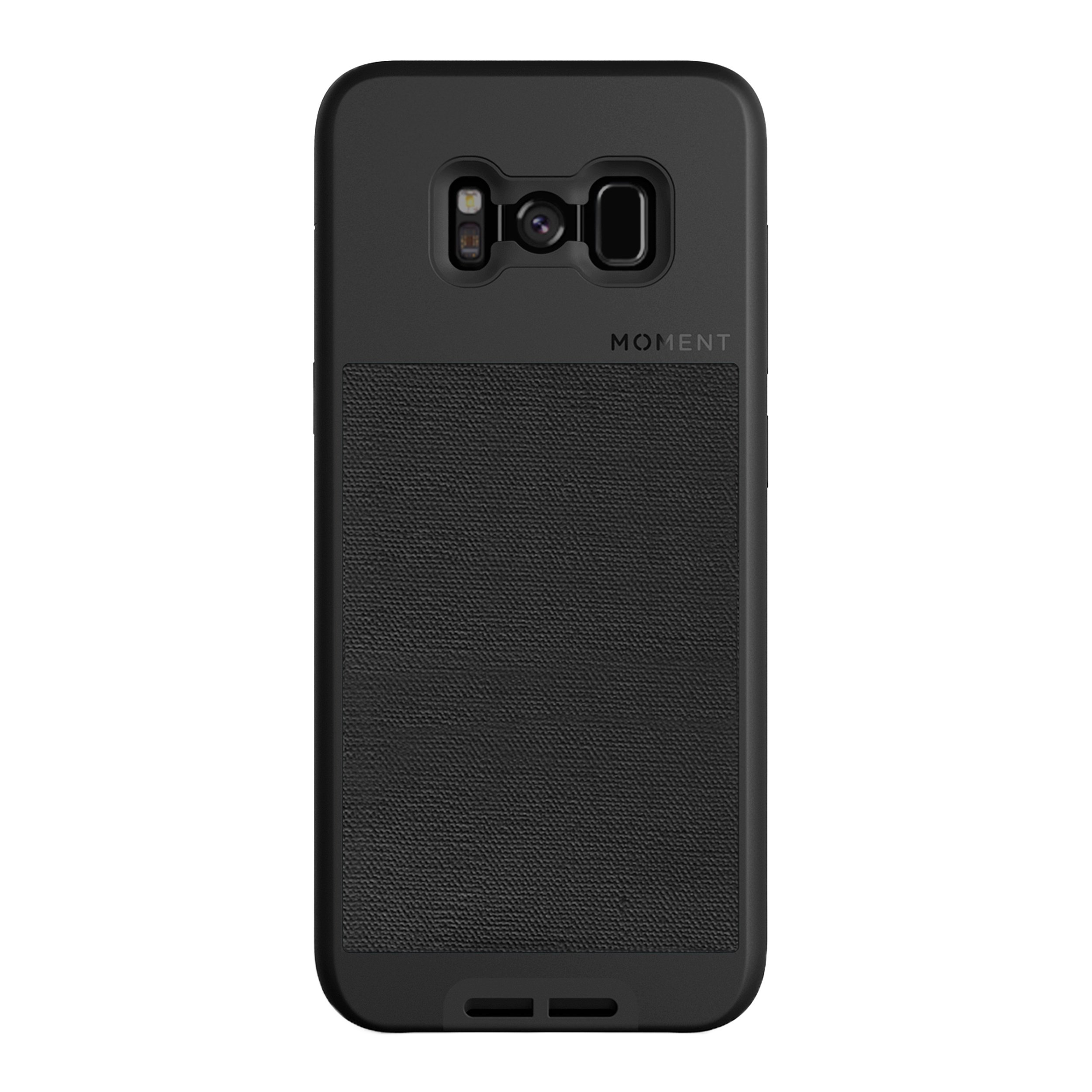 ویکالا · خرید  اصل اورجینال · خرید از آمازون · Galaxy S8+ Case || Moment Photo Case in Black Canvas - Thin, Protective, Wrist Strap Friendly case for Camera Lovers. wekala · ویکالا