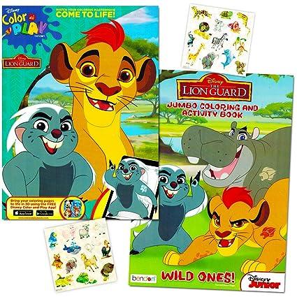 Amazon.com: Lion Guard Coloring Book Super Set -- 2 Lion Guard Books ...