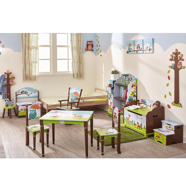 Fantasy Fields Kinder Woodland Kids Holztisch und Stuhl-Set TD-0046SET