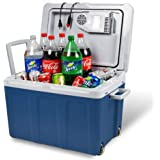 Electric Cooler and Warmer for Car and Home with Wheels - 48 Quart (45 Liter) Holds 60 Cans or 6 Two Liter Bottles and…