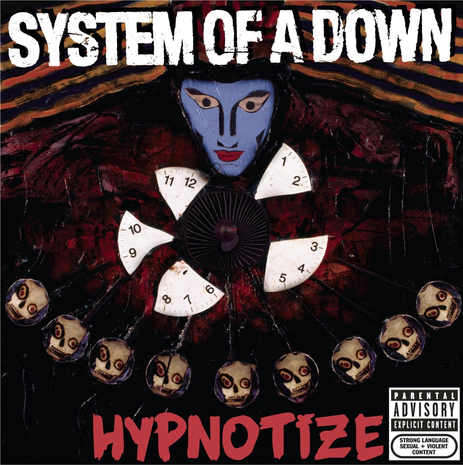 CD : System of a Down - Hypnotize [Explicit Content] (CD)