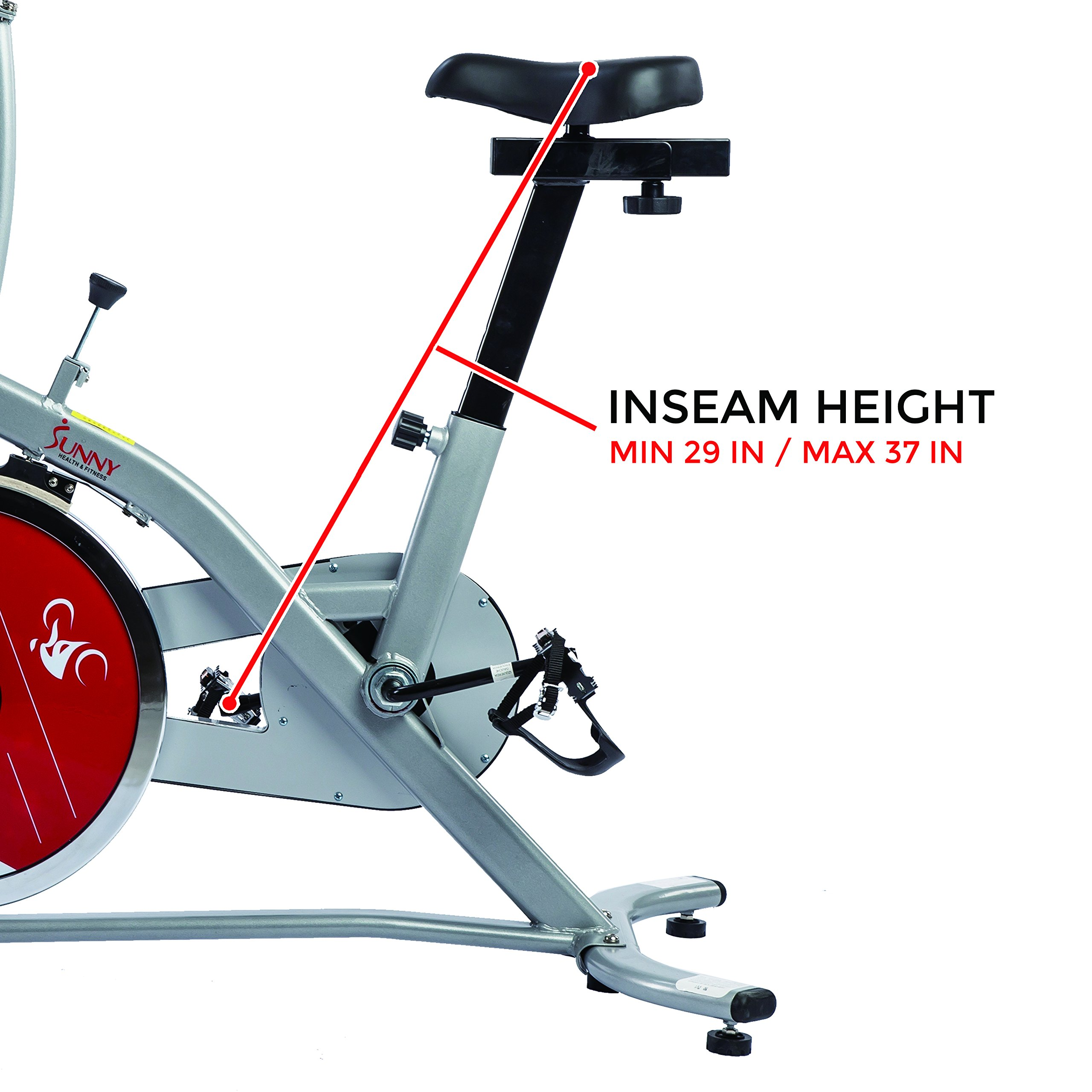Sunny Health and Fitness Indoor Cycling Bike by Sunny Health & Fitness (Image #5)