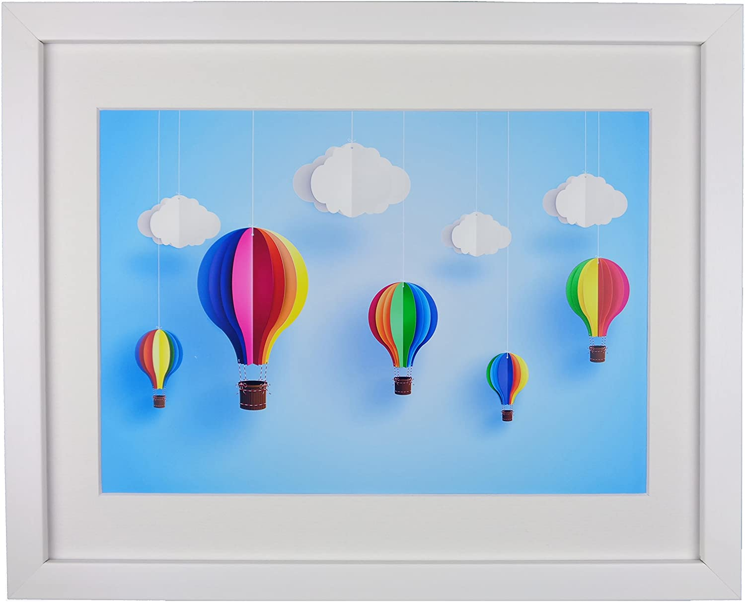 Extraordinary Creative DIY Paper Art Project -Colorful Hot Air ... | 1213x1500