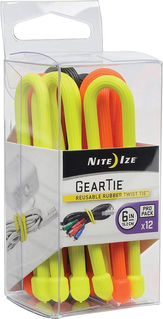 Nite Ize Gear Tie Propack, GTPP6-A1-R8: Amazon.es: Bricolaje y ...