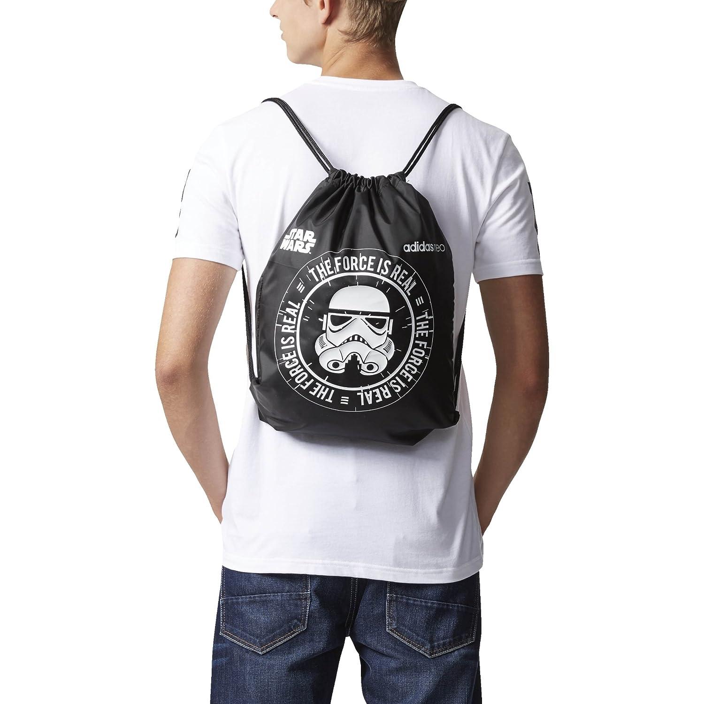 adidas GS Star Wars, bolsa hombre, negro, talla única BR1046