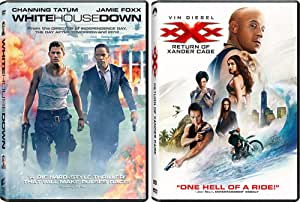 White House Down and xXx Return of Xander Cage: Action Movie DVD Collection