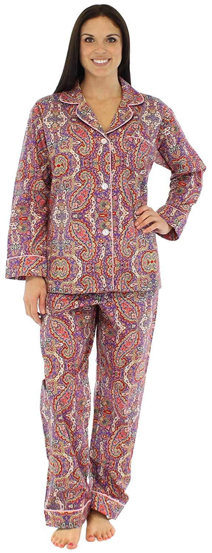 Bedhead Women's Flannel L/S Classic PJ at Amazon Women's Clothing ...