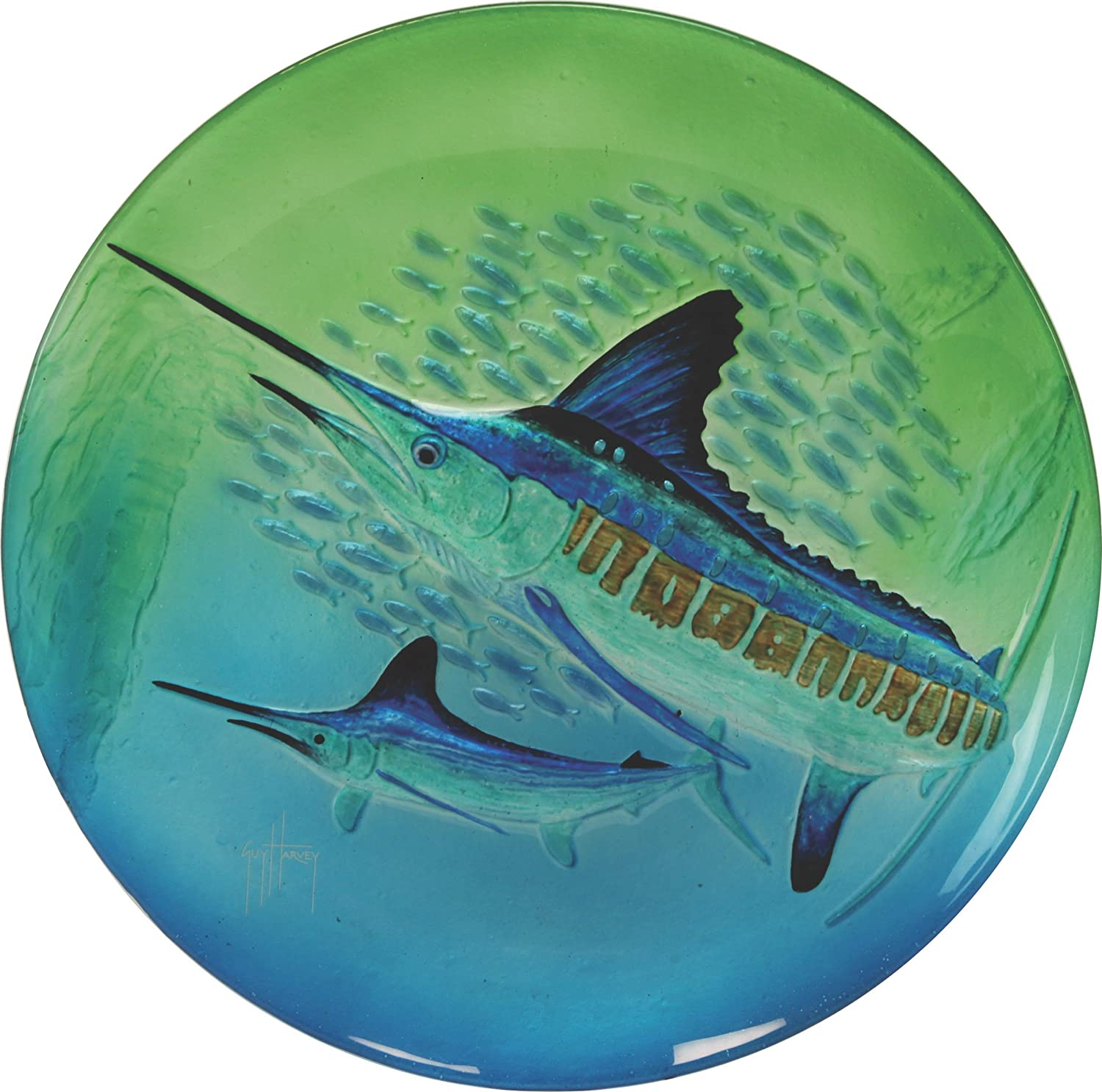 River's Edge Guy Harvey Marlin Glasplatte 45,7 cm