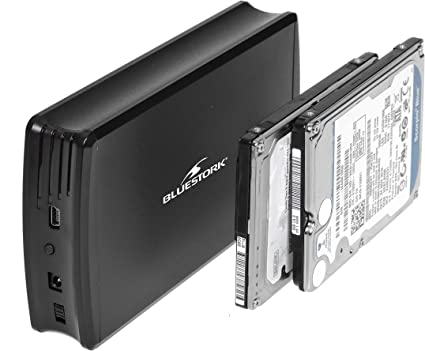 Bluestork BS-EHD-25/DUALB - Carcasa Dual para Disco Duro Externo 2 ...