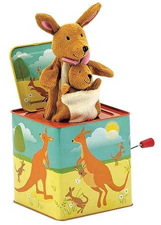 Schylling Kangaroo Jack in the Box Toy