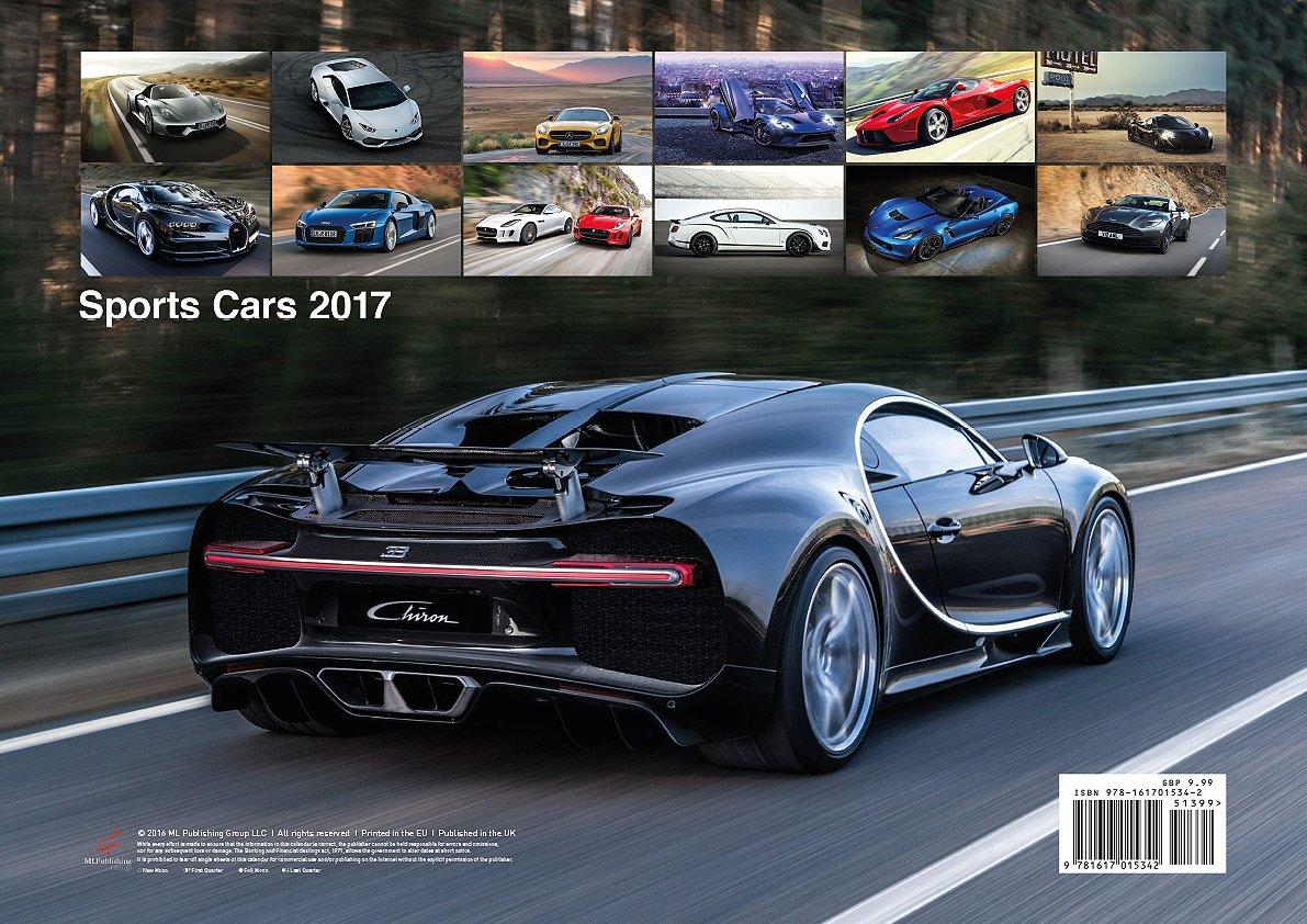 Sports Cars Calendar ML Publishing Group - All 2017 sports cars