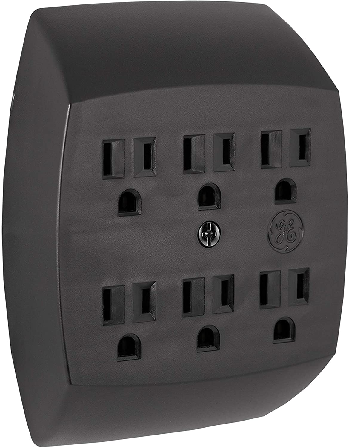 US SELLER SUNBEAM —POWER XTENSION— 6 OUTLET—GROUNDED—WALL TAP—ADAPTER FREE S/&H