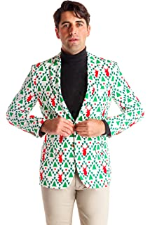 621a600bf23 Shinesty Men s Ugly Christmas Suit Jacket – The Top Ugly Christmas Sweater  Suit