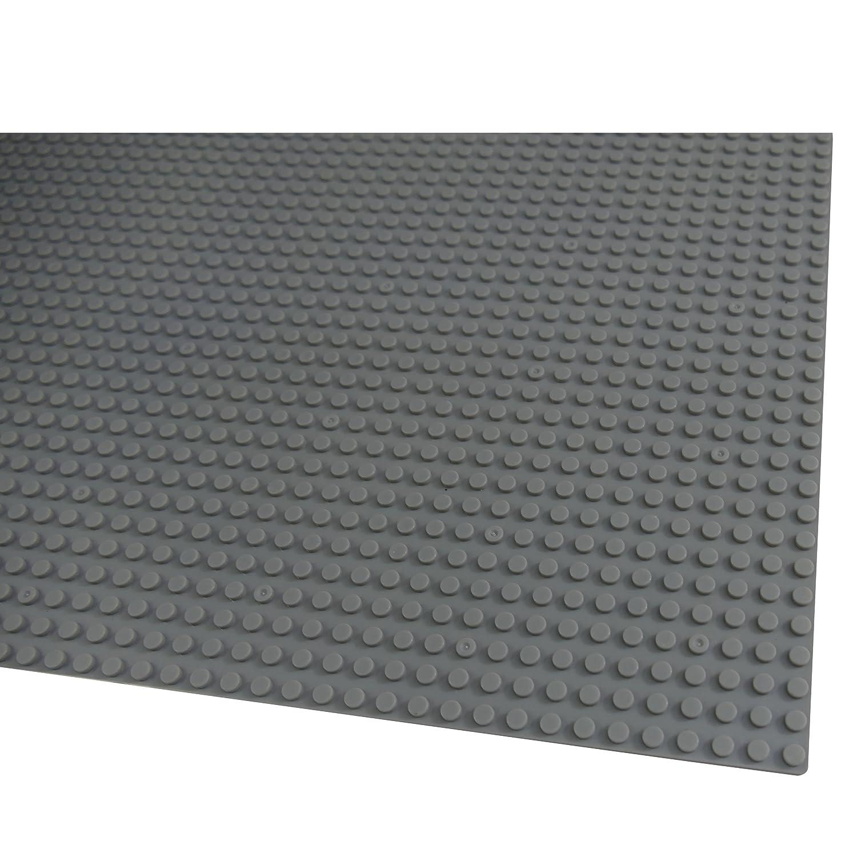 Q-Bricks Bauplatte 2er Set 40cm x 40cm//50 x 50 Pins Katara 1672 Blau Papimax Kompatibel Lego Sluban