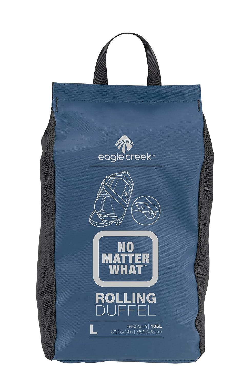 Eagle Creek Ultraleichte Reisetasche Sporttasche mit Rollen No Matter What Rolling Duffel Sac de voyage, 76 cm, 105 liters, Bleu (Slate Blue)