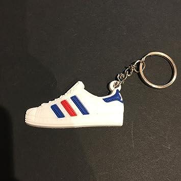 Schlüsselanhänger Keychain Adi Proco Sneaker Superstarrot Blau A5cRjLq34