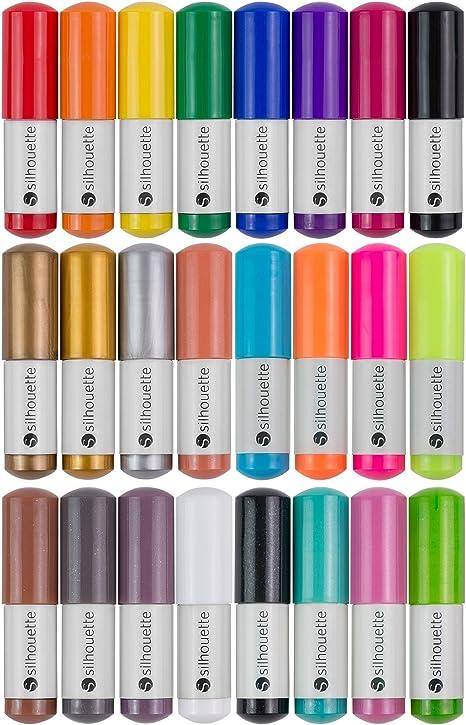 Set de 24 rotuladores Silhouette: Amazon.es: Hogar
