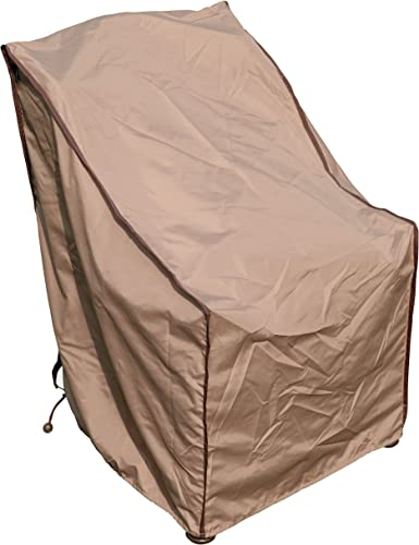 TrueShade Plus Outdoor Patio Chair Cover Water-Resistant Small 28 L x 25 W x 34 H