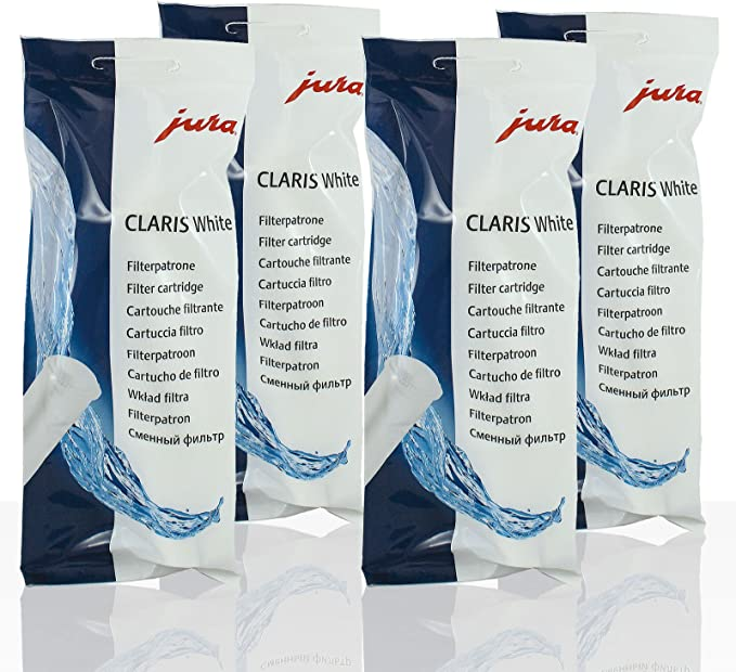 Jura Impressa E10 13228 E10 13975 Réfrigérateur Congélateur CLARIS BLANC Filtre à Eau