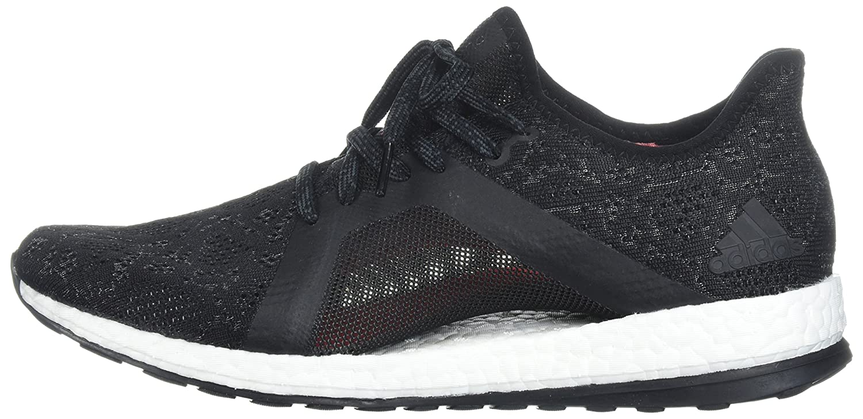 adidas Women's Pureboost X Element Running Shoe B0719HRHPL 8.5 B(M) US Grey Five/Core Black/Real Coral