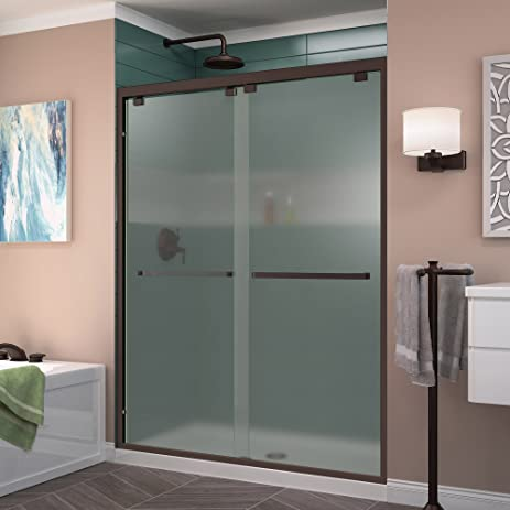 Dreamline encore 56 60 in w x 76 in h frosted glass semi frameless dreamline encore 56 60 in w x 76 in h frosted glass semi planetlyrics Image collections