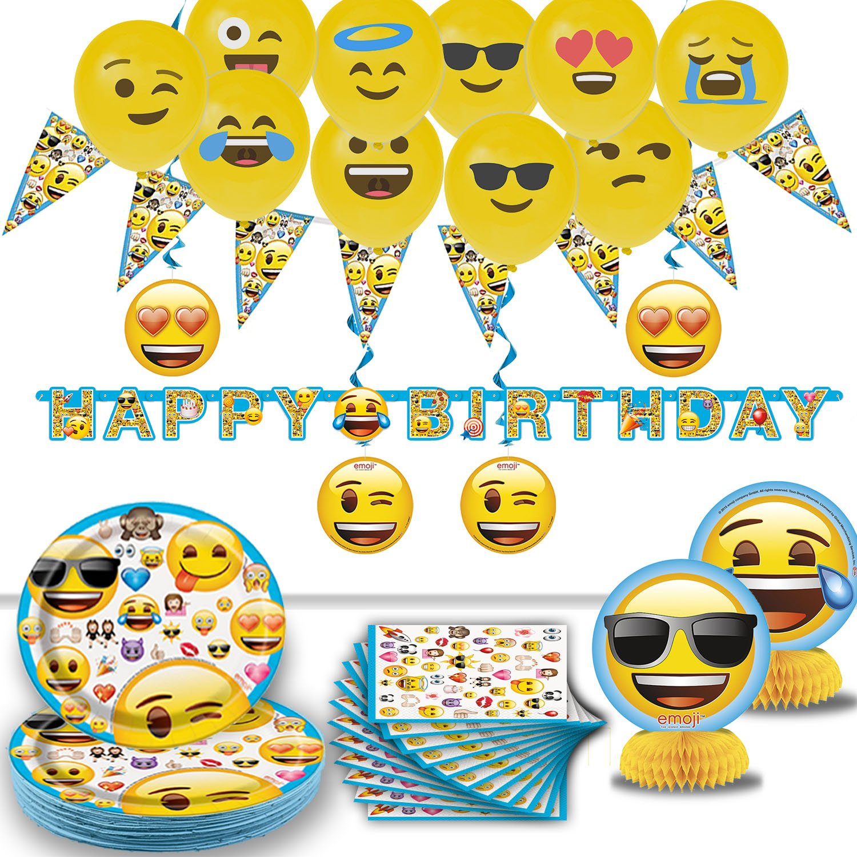 Amazon Emoji Birthday Party