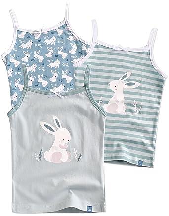 650e4f45f3 Vaenait baby Kids Girls Cotton Undershirts Tank Tops Cami Baby Bunny L