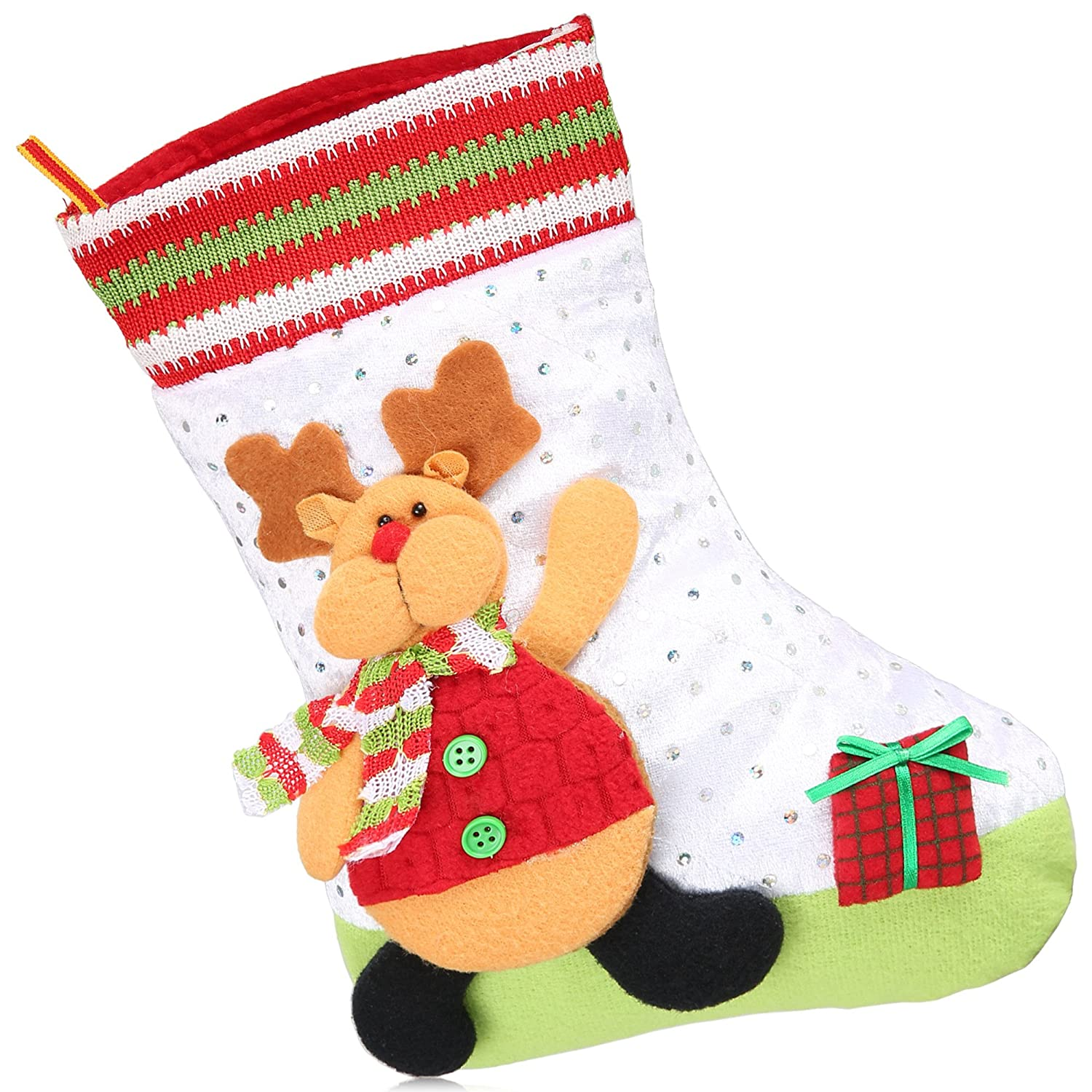 Teaio Baby Toddler Kids Socks Fashion Cute Holiday Decoration Christmas Gift Present Xmas Stocking