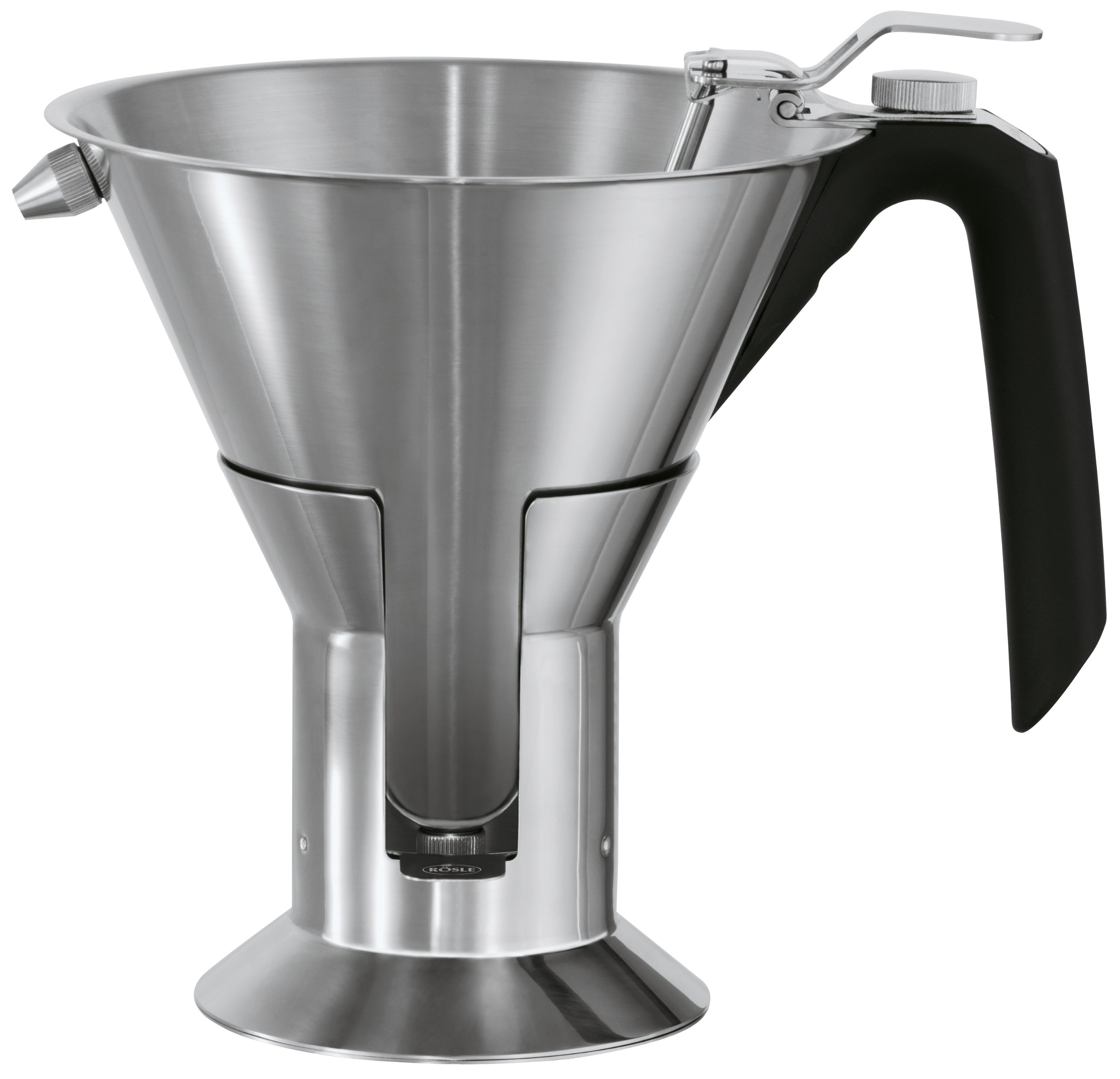 Rösle Stainless Steel Confectionary Funnel with Silicone Handle