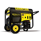 Champion Power Equipment 100219 7500 Watt Portable Generator with Electric Start and 25 ft. Generator Power Cord