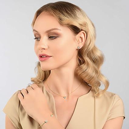 Women 6mm Round Opal Silver Ear Stud Nail Earrings Elegant Fashion Jewelry je