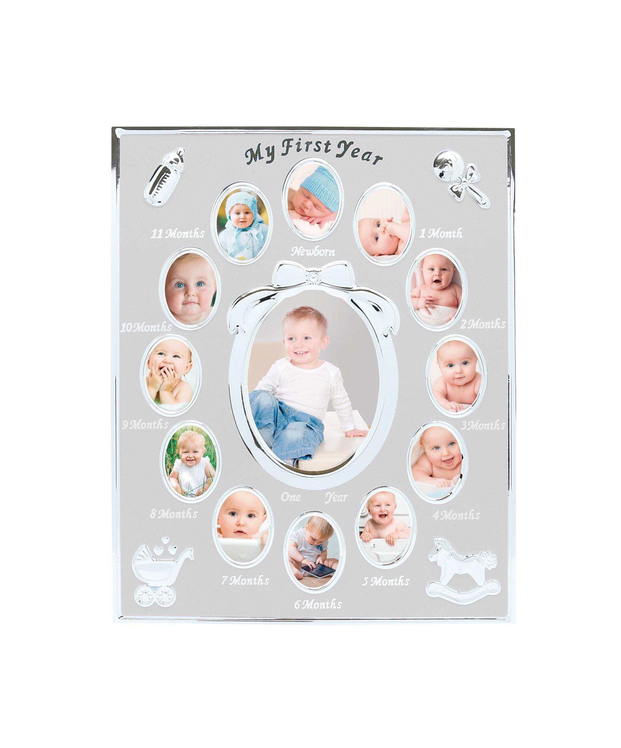Amazoncom Tiny Ideas Babys First Year Keepsake Picture Photo