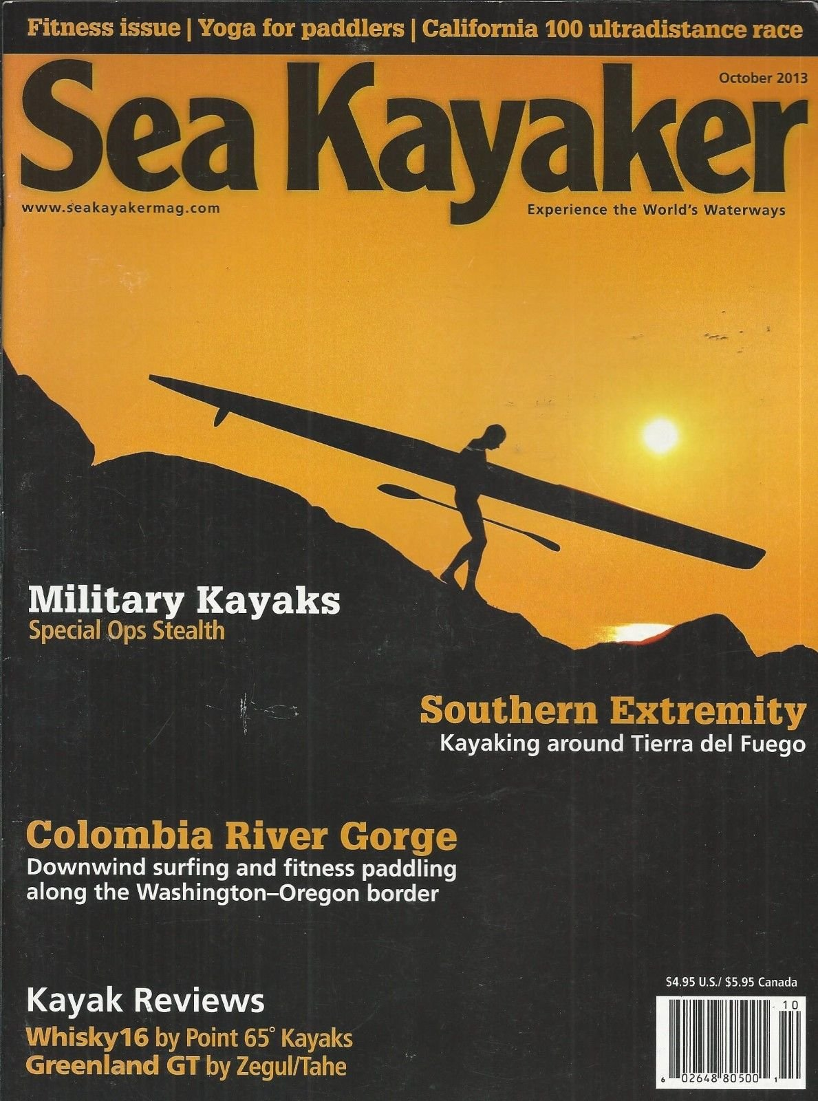 Sea Kayaker magazine October 2013