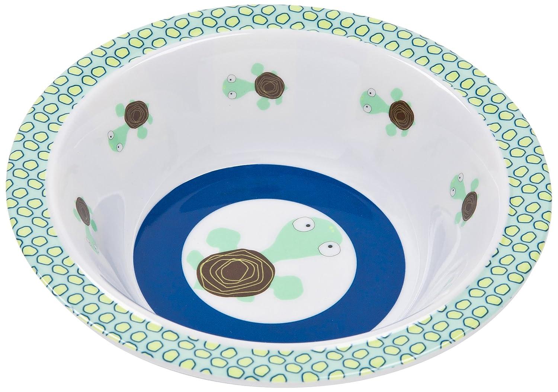 L/ÄSSIG Teller Kinder Baby Kleinkind rutschfest sp/ülmaschinengeeignet Melamin//Plate Lela light blue