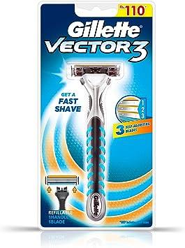 Gillette Vector 3 Manual afeitado maquinilla de afeitar: Amazon.es ...