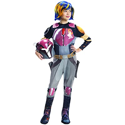 Rubie's Star Wars Rebels Sabine Deluxe Child Costume, Large: Toys & Games