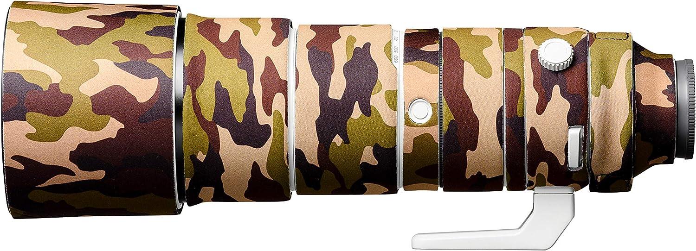 EasyCover Lens Oak Neoprene Lens Protection Cover for Sony FE 200-600 F5.6-6.3 G OSS Brown Camouflage