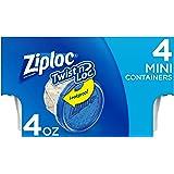 Ziploc Twist N Loc, Mini, 4 ct, 6 Pack