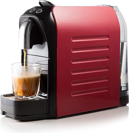 White Tiger Nespresso - Cafetera de cápsulas (1140 W, 19 bares ...