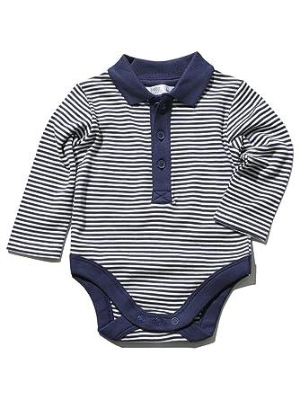 M&Co - Body - Rayas - Polo - Manga Larga - para bebé niño azul ...