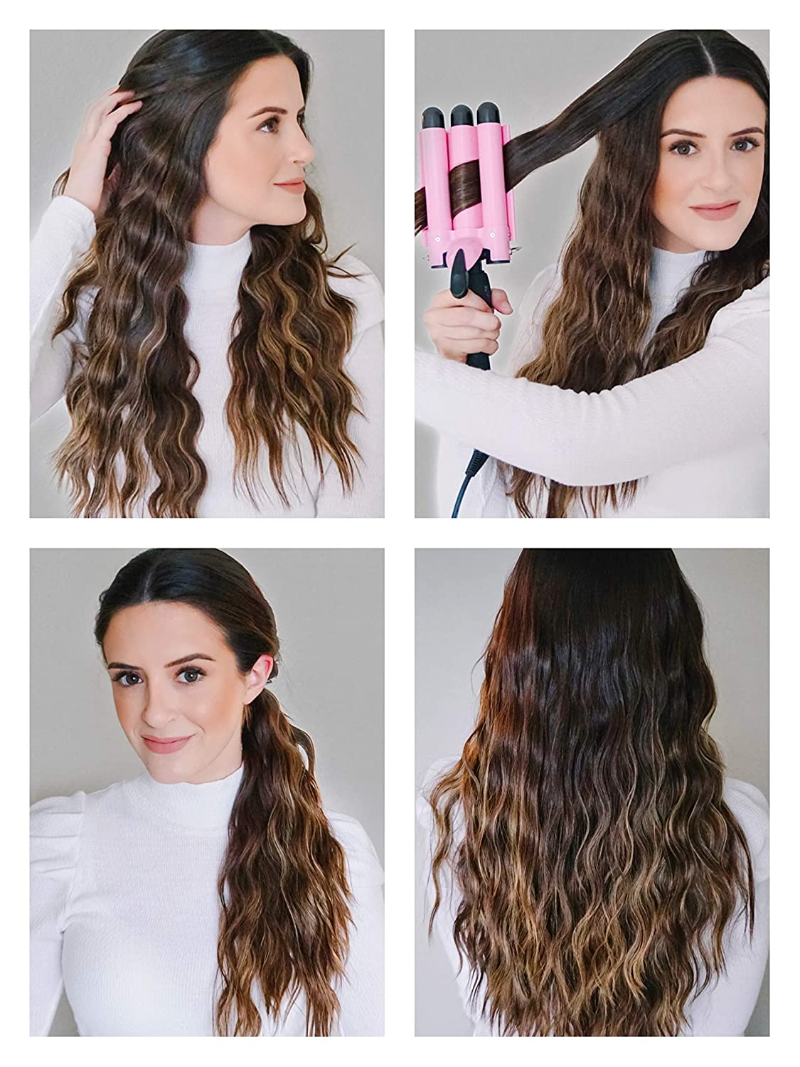 best curling wand for big beach waves