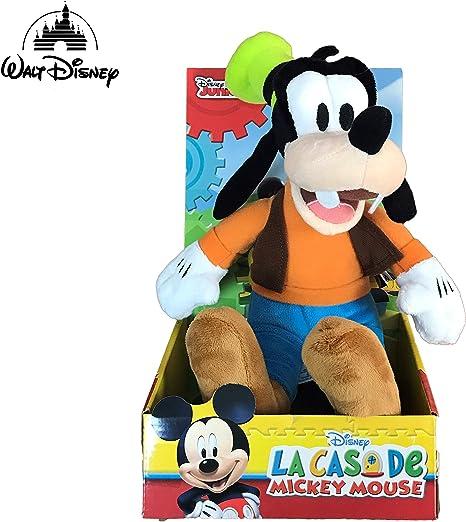 Disney Goofy Mickey Mouse Club House 25 CM Peluche Super Soft: Amazon.es: Juguetes y juegos