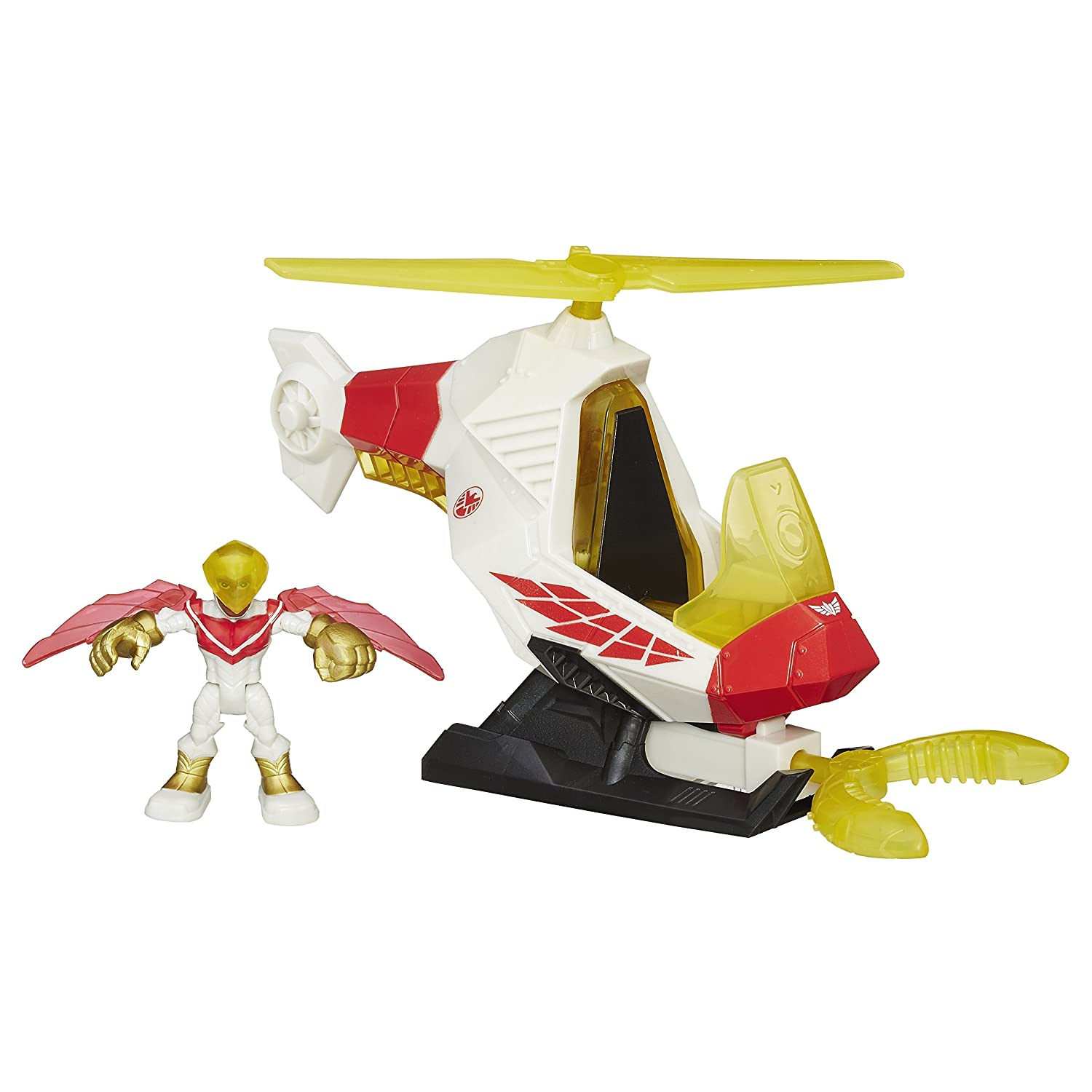 Playskool Heroes Marvel Super Hero Adventures Talon Copter with Marvel/'s Falcon
